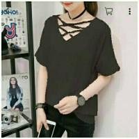 Clothing twis line cross