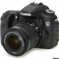 Kamera Canon EOS 70D Lensa Kit 18-55mm IS STM Garansi Resmi Datascrip