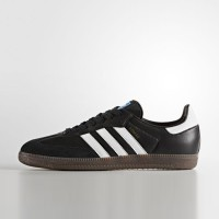 Sepatu Casual Adidas Samba OG Black Original BZ0058