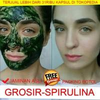 Jual Masker Spirulina Jaminan Asli 100% Kualitas Import - Kapsul - Murah Murah