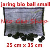 jaring net media bioball bio ball small kecil murah