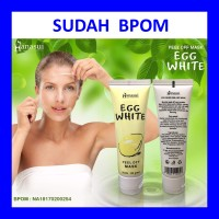 Masker Putih Telur - Egg White Peel Off Mask - Telor - Wajah