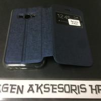 Flipcover Samsung J1 Ace J110 Sarung Buku Flip Case HP