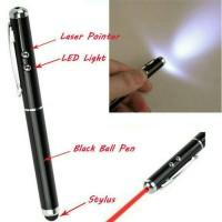 harga Pen Led Multi Fungsi 4 In 1 (stylus+pen+laser Pointer+senter Led) Tokopedia.com