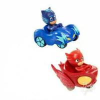 Jual set 3 pcs! PJ Masks toy cars / Mainan mobil PJ Mask Murah