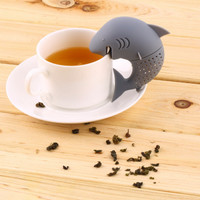 Jual KS094 Shark Tea Strainer Infuser Penyaring Teh Hiu Tea Bag  Herbal Spi Murah