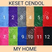 KESET CENDOL DOFF MY HOME - Microfiber, Anti Slip - GROSIR & ECERAN