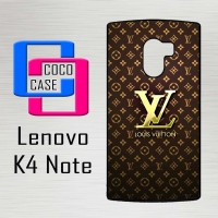Casing Hp Lenovo K4 Note Louis Vuitton Gold X4448