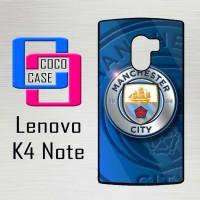 Casing Hp Lenovo K4 Note Manchester city X4256