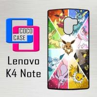 Casing Hp Lenovo K4 Note pokemon eevee wallpaper X4515