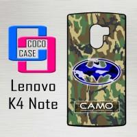 Casing Hp Lenovo K4 Note Camouflag X4132