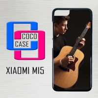 Casing Hardcase Hp Xiaomi Mi5 Shawn Mendez Playing Guitar X4406