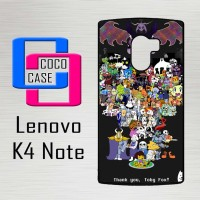 Casing Hp Lenovo K4 Note Undertale X4400
