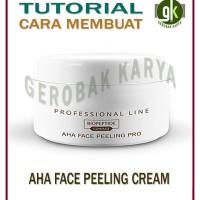 Cara Membuat AHA Face Peeling Cream  Krim Peeling Wajah   Tutorial