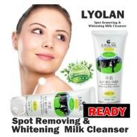 Jual Lyolan Milk Scrub Cleanser whitening Murah