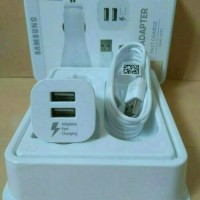 Charger Mobil Samsung Fast Charging Dual Car Adaptive ORI 100%