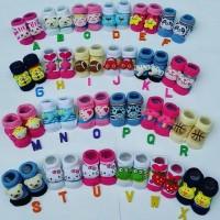 Jual Kaos Kaki Bayi 3D Boneka Anti Slip Murah