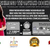 Kompor Listrik Shimono Teppanyaki Cooker MAGO
