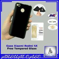 Jual Case Xiaomi Redmi 4X / Prime Softcase SKIN MATTE free Tempered Glass Murah