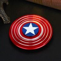 Fidget spinner Captain America Shield Marvel Edition
