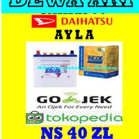 Aki DAIHATSU AYLA Incoe Gold Astra NS40ZL or 34B19L or 32B20L AKI GS