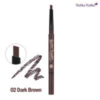 Holika Holika Wonder Drawing 24hr Auto Eyebrow - 02 Dark Brown - 5412