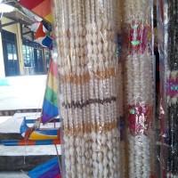 Tirai kerang gorden putih