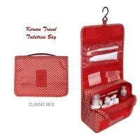 Jual [New] Korean Travel Toiletries Bag (Tas untuk tempat kosmetik) Murah