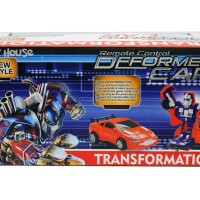 New RC Remote Control Deformed Transformers Optimus Prime Car Promo