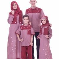 Baju Anak Muslim, Gamis Katun, Gamis Nibras NSAP 31 Umur 11 Tahun