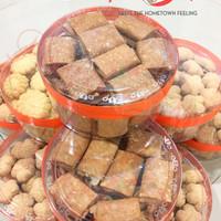 Jual Kue Kering/Snack Semprong Wijen Lipat Renyah Legit Gurih Palembang Murah