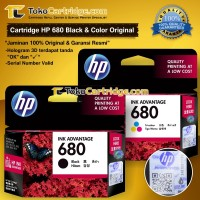 Cartridge HP 680 Black & Colour ORIGINAL (1 SET) HP F6V27AA F6V26AA