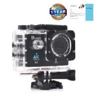 "Bcare BCam X-3 Action Camera WiF 16 MP SonySensor 4K - layar 2""- Black"