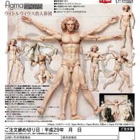 Freeing Figma SP-075 Desktop Art Museum Vitruvian Figure Chart Period
