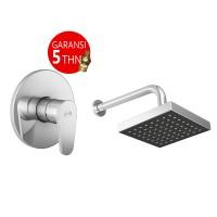 harga Aer Bundling Kran Tanam Air Dingin Ssv 01c + Wall Shower Ws-11 Tokopedia.com