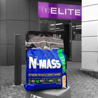 ANS N Mass 2 lbs NMass Weight Gainer Whey FREE Granola