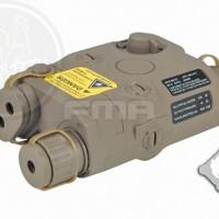 FMA PEQ 15 Battery Case + Red Laser DE TB495