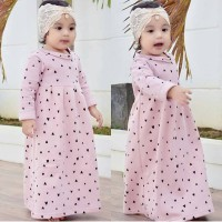 KHAY LONG DRESS GAMIS KAOS ANAK