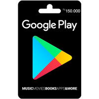 Google Play Gift Card Rp. 150.000 Region Indonesia