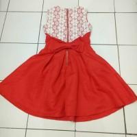 ORIGINAL SOLEMIO DRESS RED