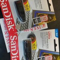 Jual SanDisk Ultra USB 3.0 Flash Disk 32GB Drive 32 GB CZ48 100mb flashdisk Murah