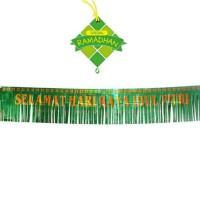 banner idul fitri ramadhan hiasan ornamen lebaran gantung dekorasi