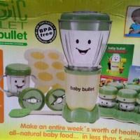 Jual Magic BABY Bullet (Baby food making Processor and storage) Murah