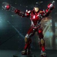 Hot Toys PPS02 Iron Man Mark XXXV 35 Red Snapper NEW
