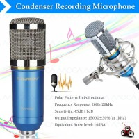Studio Microphone BM 800 NEW SERIES BIRU HITAM BM800