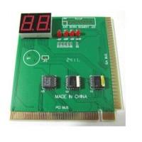 Motherboard Testing Card PCI 2LED + Manual Book