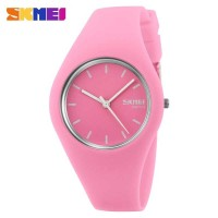 Jam Tangan Wanita SKMEI 9068 Original Anti Air 30M - Baby Pink