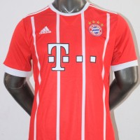 Jersey Baju Bola Bayern Munchen Munich Home 17/18 Grade Ori Official