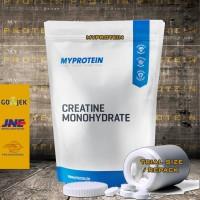 MYPROTEIN Creatine Monohydrate 100gr REPACK BEST IN UK FREE TOPLES