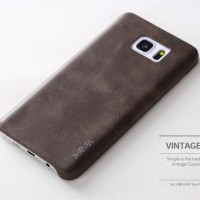 X-LEVEL VINTAGE Samsung note 5 S7 flat edge leather back cover case hp